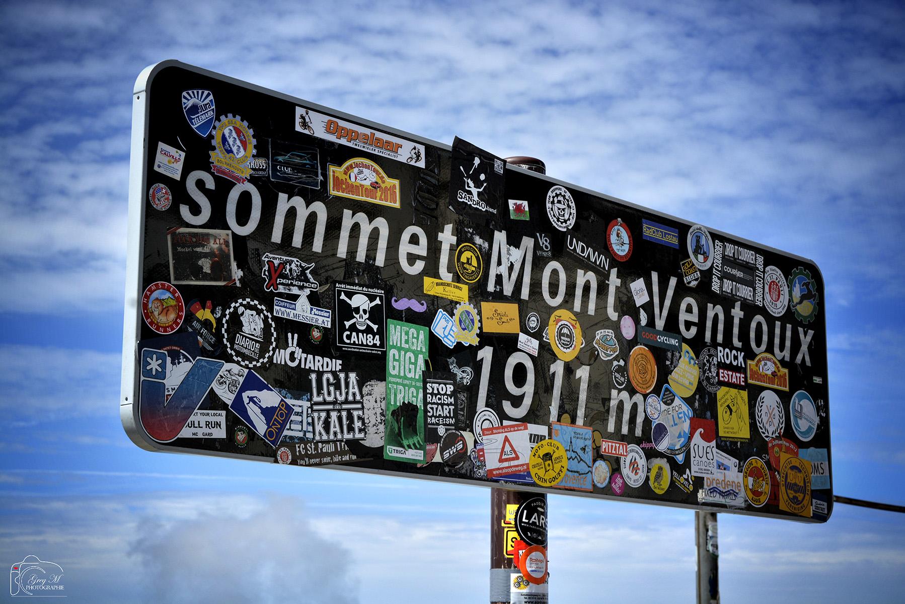 Mesure du Mont-Ventoux