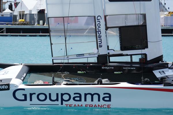 exagone_team_france_a_oman America's Cup Groupama