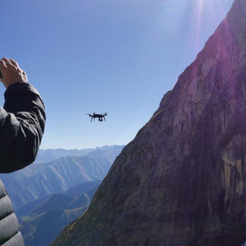TERIA -GLACIER D'ARCOUZAN - DRONE