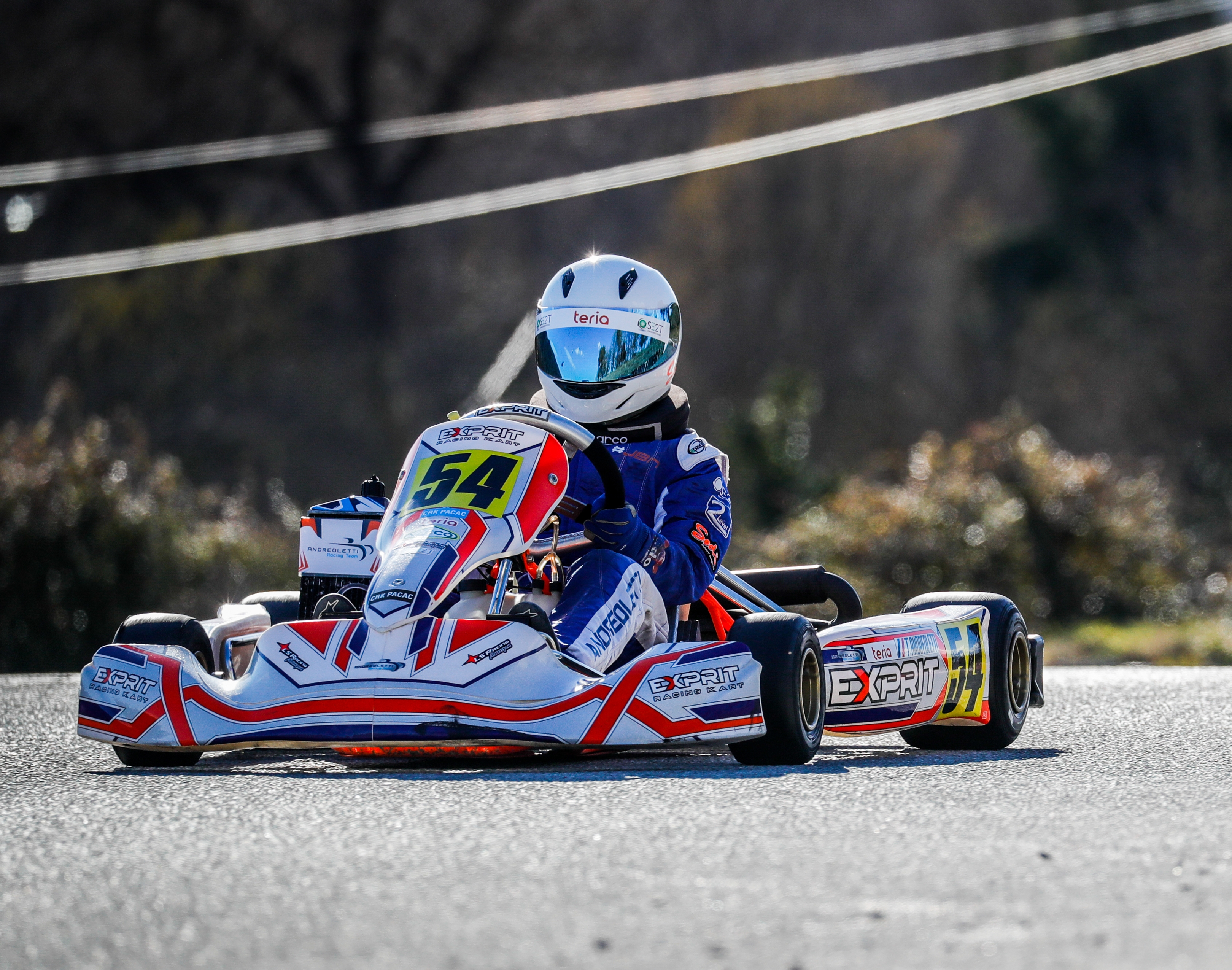 Théo Andreoletti - karting - Brignoles