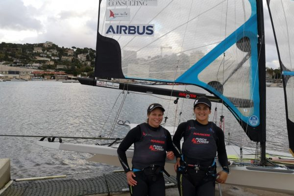 Equipe TERIA France voile - Aude COMPAN & Julie BOSSARD, AIRBUS BRETTEVILLE CONSULTING