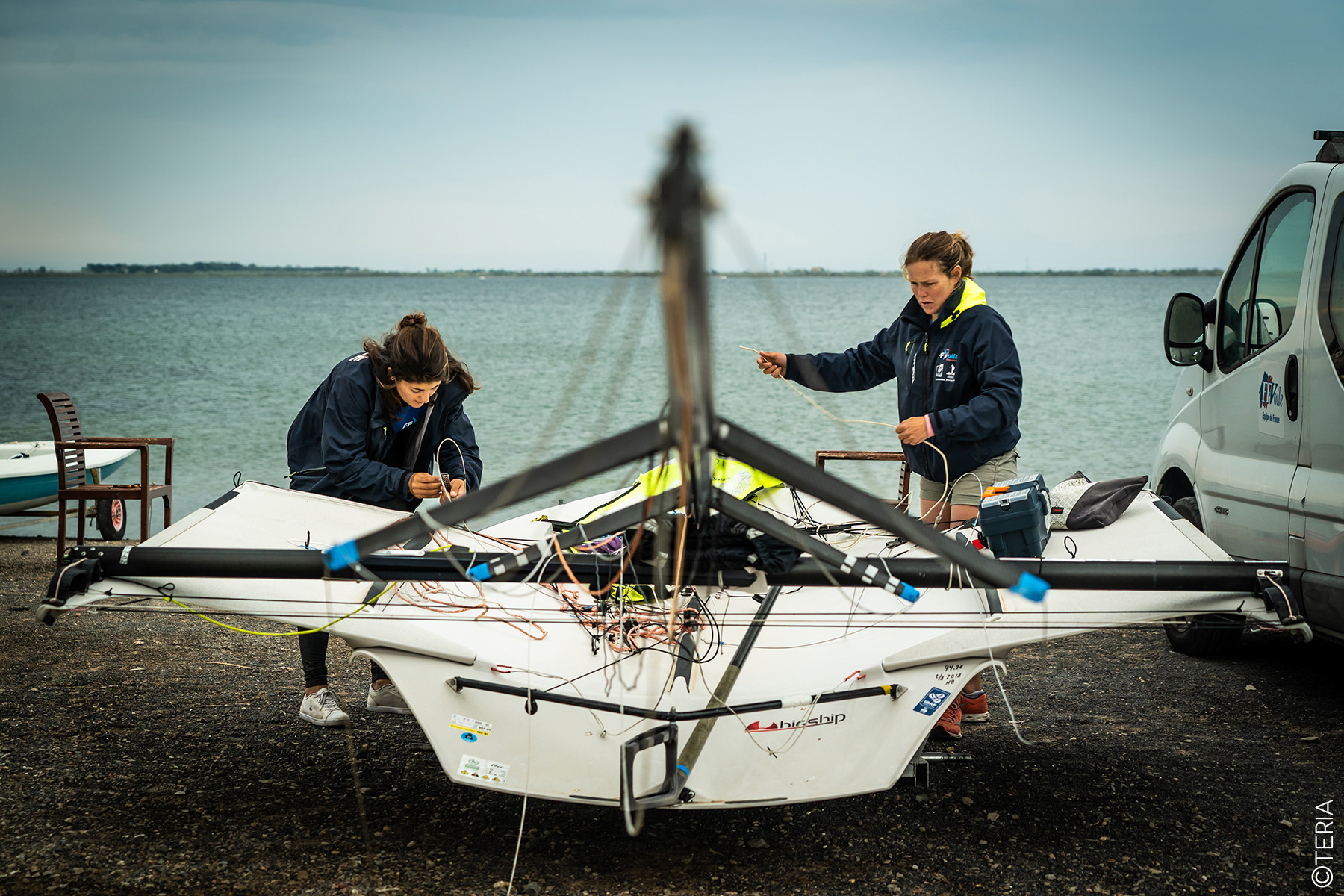 New boat and gold medal for the duo Bossard & Compan