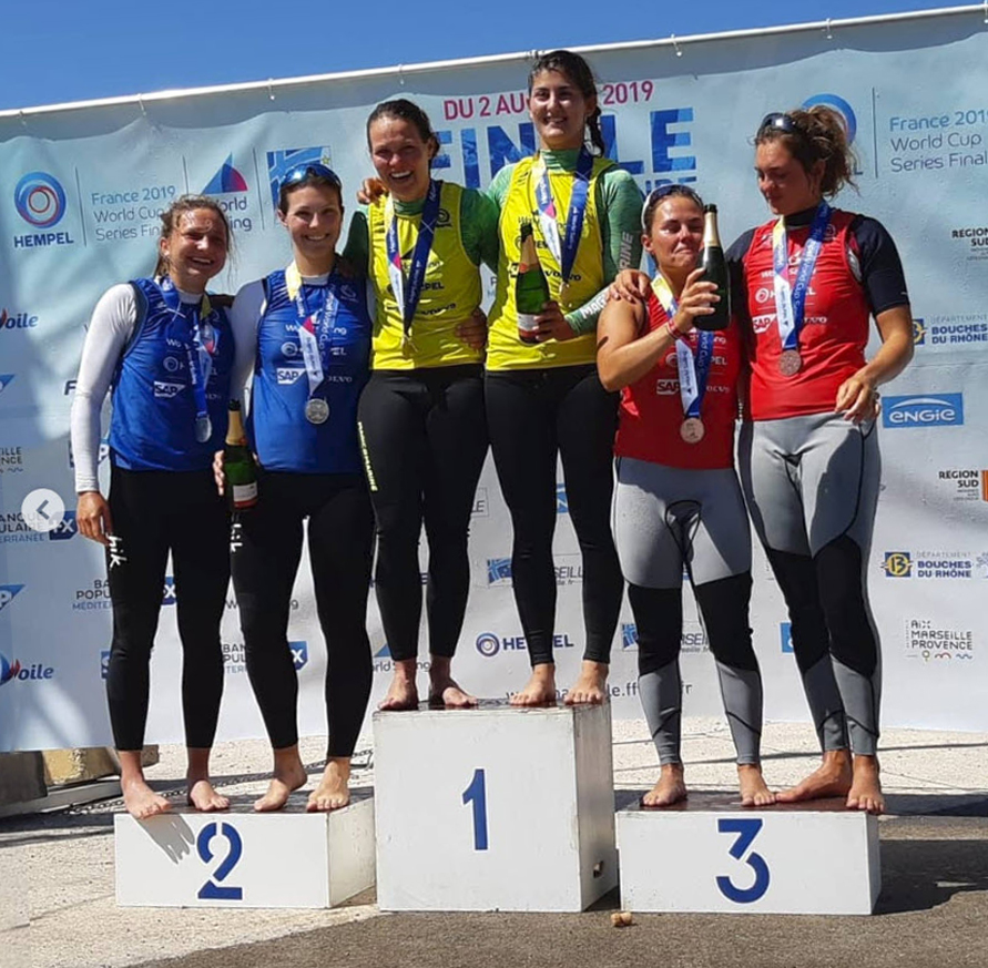 Podium Bossard Compan Word Cup Marseille 2