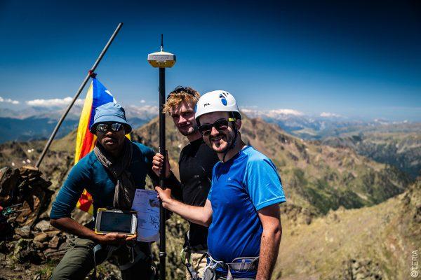ASCENT MEDECOURBE ICGC TOPCON OGE TERIA PYRENEES MOUNTAIN MOUNTAINEER GPS ALTITUDE GNSS GALILEO LANDSCAPE IGN HIPERVR TERIASAT