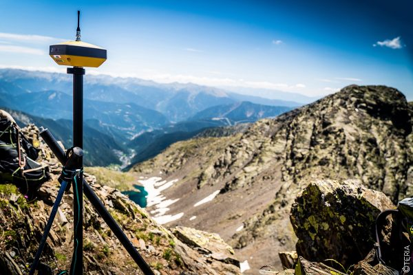 ASCENT MEDECOURBE ICGC TOPCON OGE TERIA PYRENEES MOUNTAIN MOUNTAINEER GPS ALTITUDE GNSS GALILEO LANDSCAPE HIPERVR VR