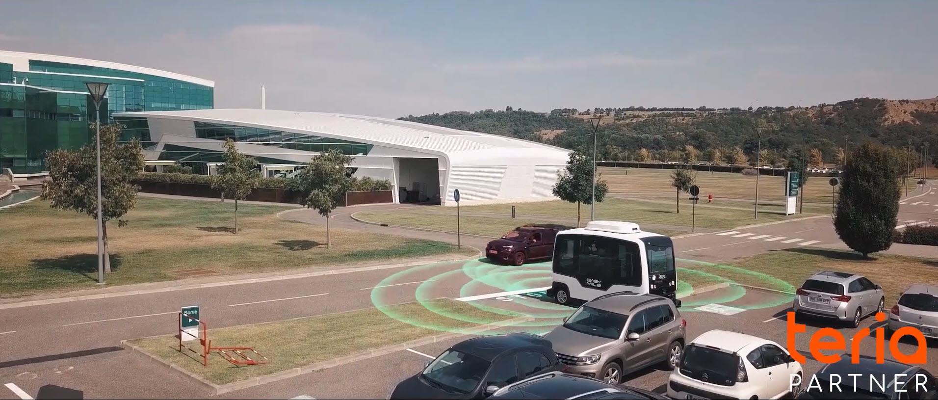 EASYMILE, pionnier dans le transport autonome
