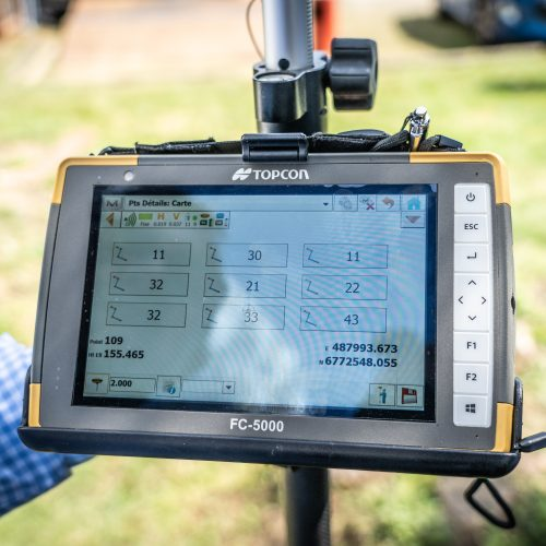 TOPCON field fit with Hiper