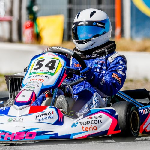 Théo ANDREOLETTI - Karting - TERIA