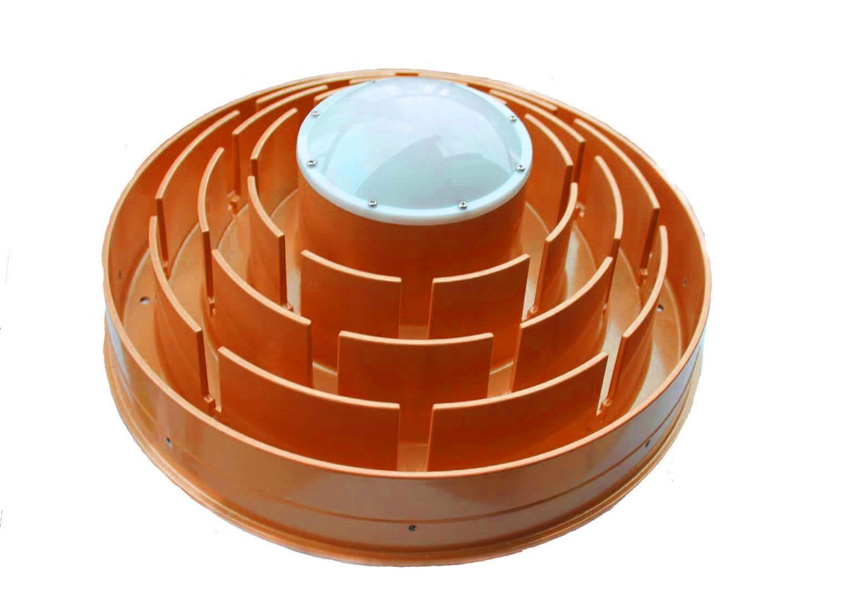 Choke ring Antena
