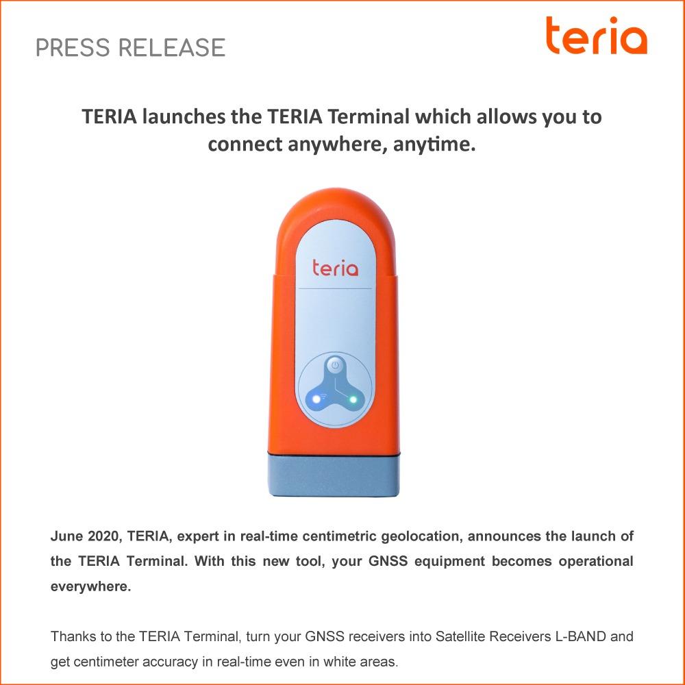Press Release TERIA Terminal