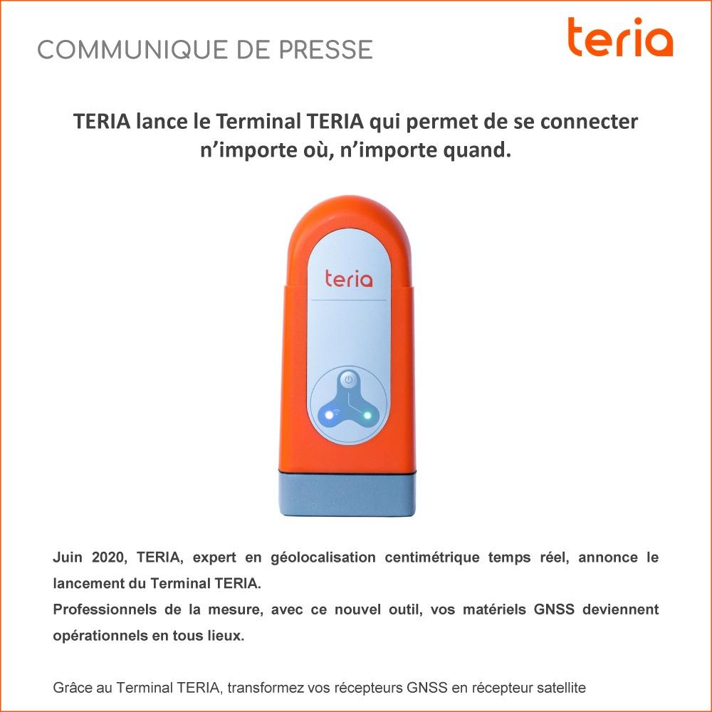 Communiqué de presse Terminal TERIA 2020 FR
