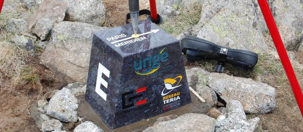 Prats de Mollo: Measuring the Paris meridian marker with TERIA